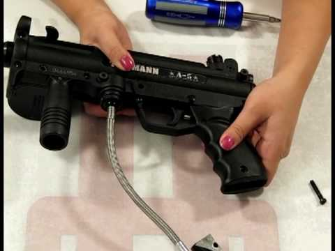How to Un-Install/Remove a Response Trigger from your Tippmann Paintball Gun by HustlePaintball.com