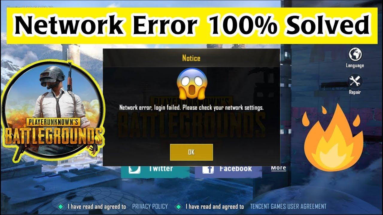 Tencent Gaming Buddy Network Error Login Failed 100% Fix