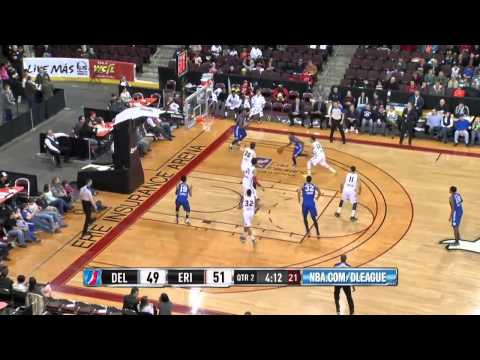 NBA D League  Delaware 87ers @ Erie BayHawks Full Game No Sound 2015 03 28