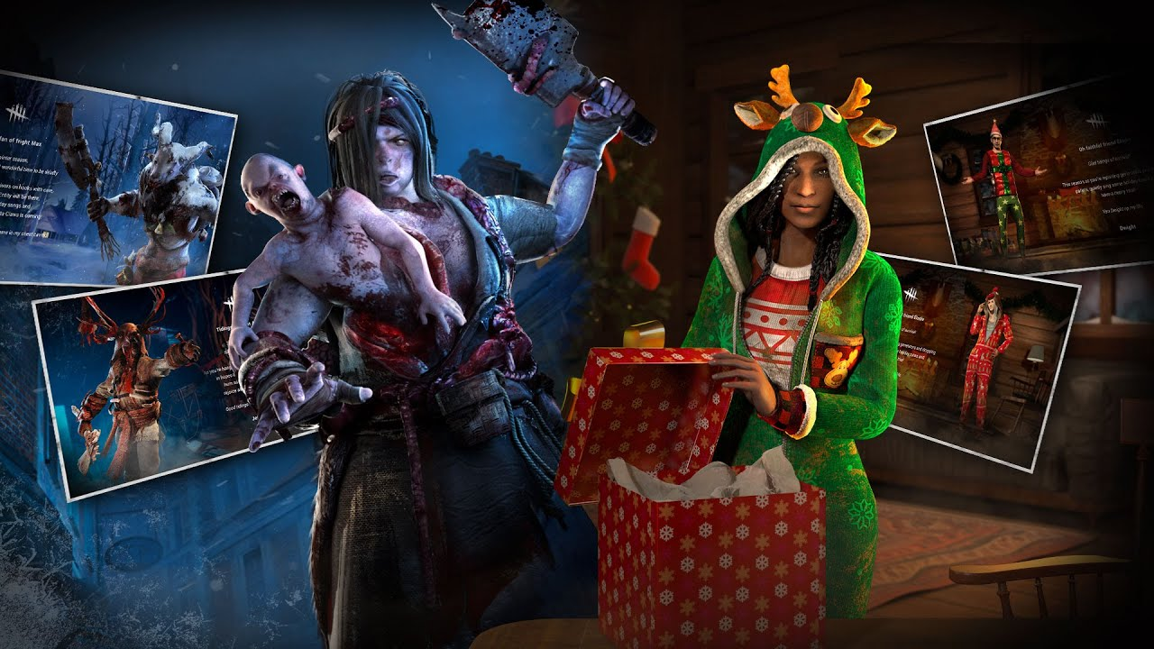 Dead by Daylight | HOLIDAY E-CARDS