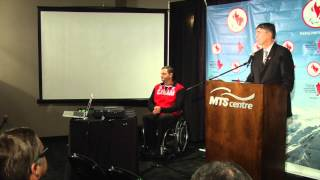 Canadian Curling Association Introduces 2014 Paralympic Team