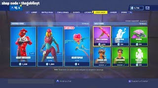 FORTNITE ITEM SHOP! FREE GLIDER and VALENTINE'S DAY SKINS! ITEM SHOP FEBRUARY 14TH ITEM SHOP!