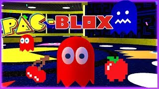 HOW AMAZING IS THIS MAP OF PAC-MAN 🍒 | ROBLOX (PAC-Blox!)