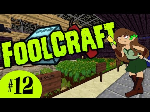 FoolCraft #12 : 💀🌱 A Matter Of Death & Life [Modded Minecraft Let's Play]