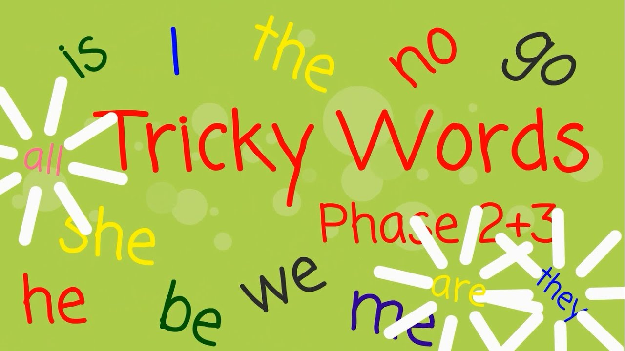 Image result for tricky words