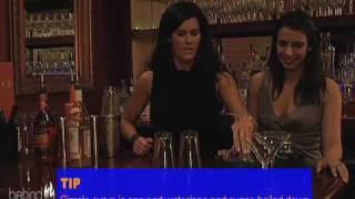 Pumpkin Chai Latte Martini With Bartender Brenda Marry At Vox Populi, Boston