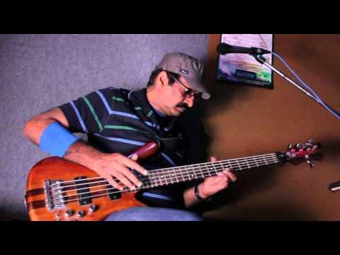 Fastest Bass Guitar Player @ 32 Notes/Second - Jayen Varma (Indian Slap Bassist)