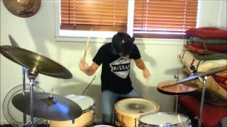 The Mars Volta - Roulette Dares (the Haunt Of) Drum Cover