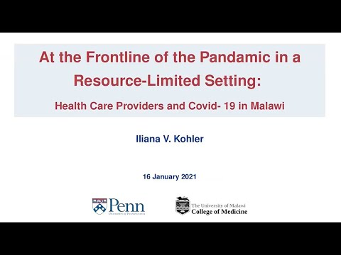 Pandemic Frontline in Malawi