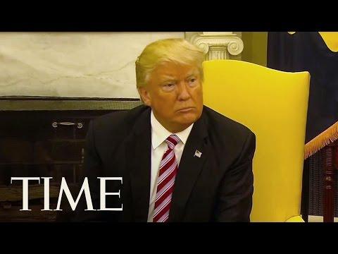 President Trump Breaks Silence On James Comey Firing: 'He Wasn't Doing A Good Job' | TIME