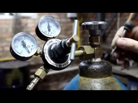 Наполнения баллона высокого давления, кислород, азот, Аргон, типы и виды вентилей