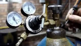 видео Выбор защитного газа для сварки и его хранение