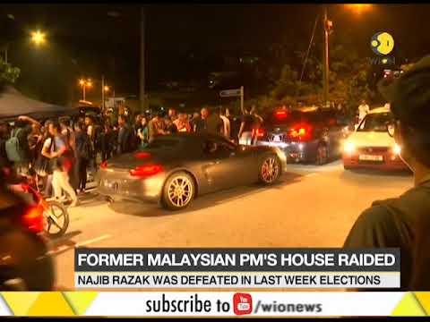 Malaysian police raids ex-PM Najib Razak's house