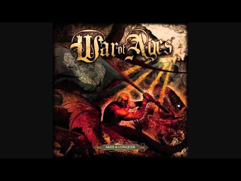 (HD w/ Lyrics) Through the Flames - War of Ages - Arise & Conquer