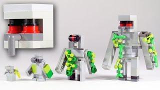 How To Build LEGO Minecraft Iron Golem