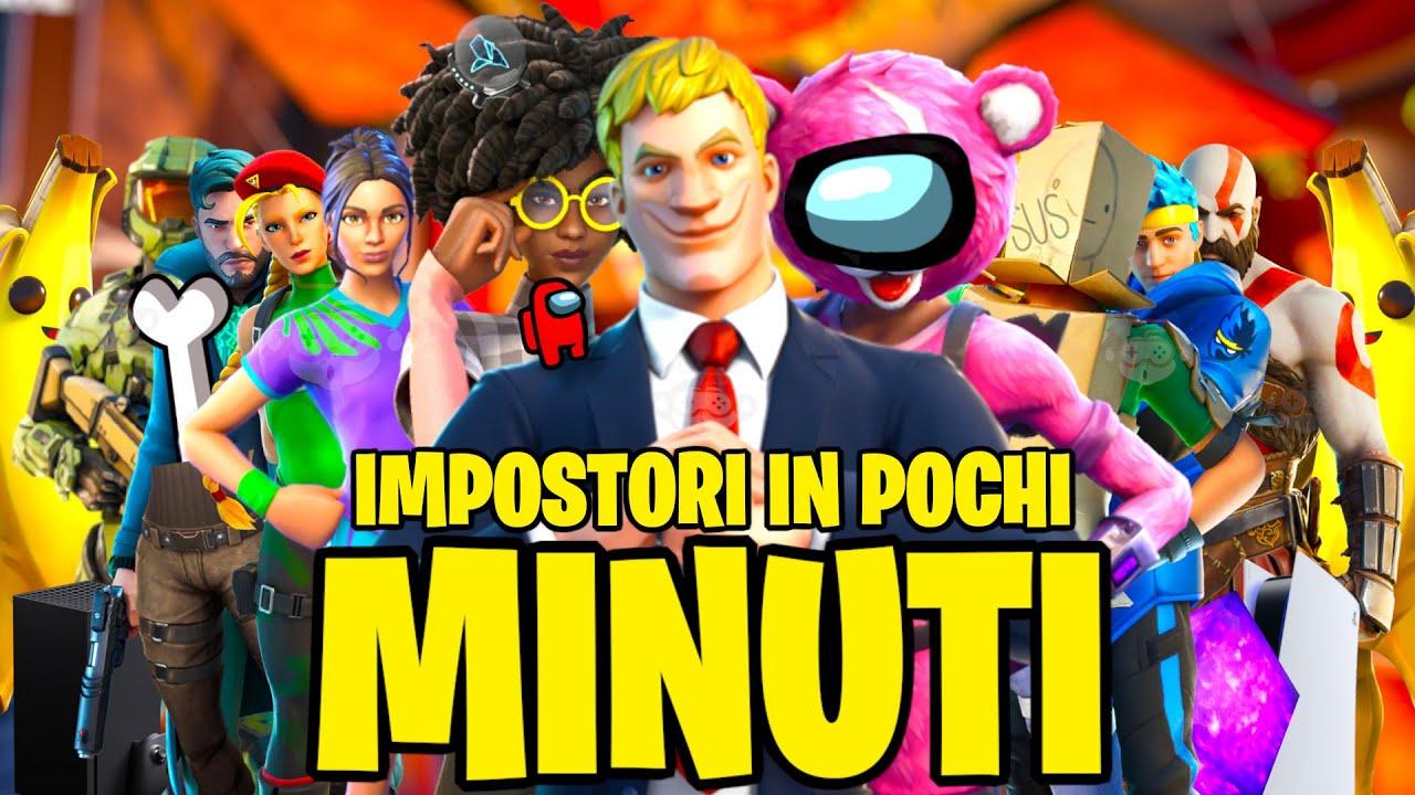 Download FORTNITE IN POCHI MINUTI [IMPOSTORI]