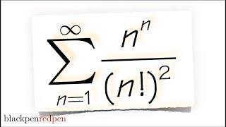 Series Of N^n/(n!)^2, Converge Or Diverge?