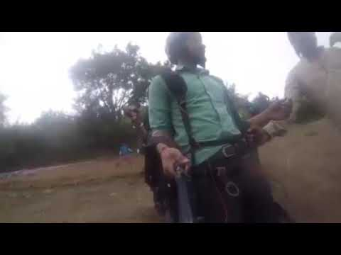 Man abuse himself while paragliding | Himachal Pradesh, India