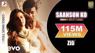 The hottest bollywood debutant - mannara is here to take your breath away! check her out in sizzling video of love song 'saanson ko' from bolly...