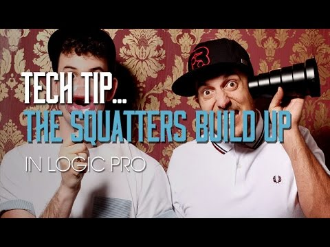 Creating Build Ups with The Squatters in Logic Pro