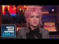 watch he video of Cyndi Lauper On Madonna's Women's March Speech | WWHL