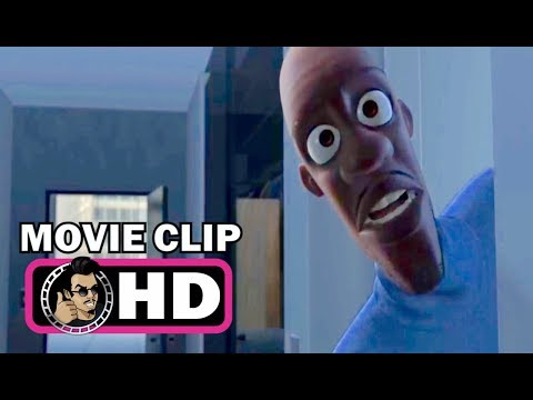THE INCREDIBLES Movie Clip - Where's My...