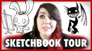 A Weird Sketchbook Tour