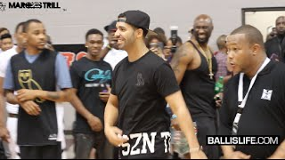 Ballislife Drake Celebrity Basketball Game | James Harden, Dez Bryant, Kirko Bangz | @6BillionPeople