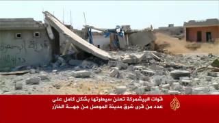 قوات البيشمركة تسيطر على قرى شرق الموصل