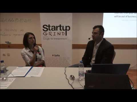 Startup Grind Sofia hosts Lubo Kabakchiev - Talk on Digital Marketing