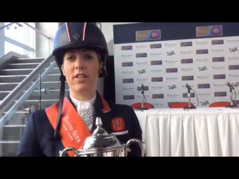 Charlotte Dujardin and Valegro crowned World Cup champions [VIDEO]