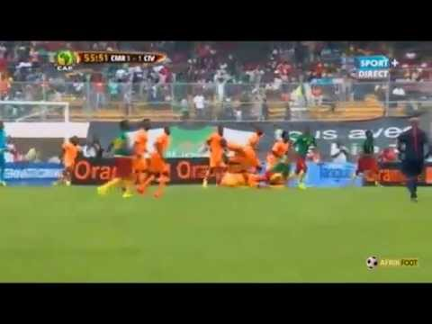 Serge Aurier began convulsing after a head injury during the Cameroon vs Ivory Coast match.