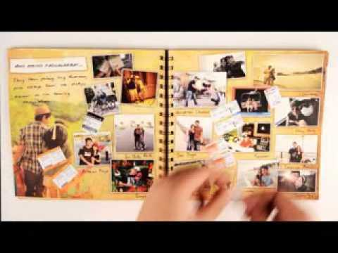 Scrapbook Wedding Invitation Making Ideas Youtube