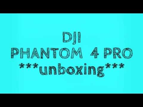 DJI PHANTOM 4 PRO  *unboxing review*