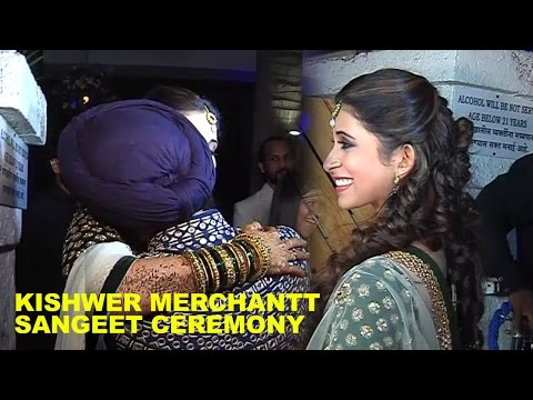 Kishwar Merchant Sangeet Ceremony | Suyyash Rai & Kishwar Merchant Marriage Video