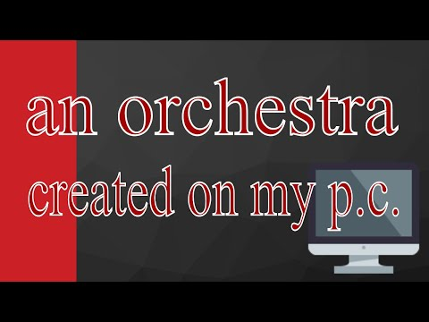 Orchestral Music. (Magix music maker) Free music.