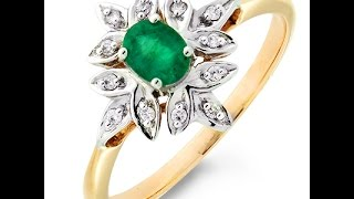 Кольцо с изумрудом и бриллиантами 2017 /  Ring with emerald and diamonds(, 2015-12-22T14:37:52.000Z)