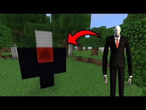 how to make slenderman portal in minecraft