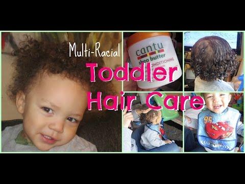 Toddler Hair Care Routine | Multi-Racial Kids