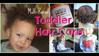 Toddler Hair Care Routine | Multi-Racial Kids