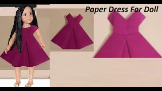 How to make a Paper Dress