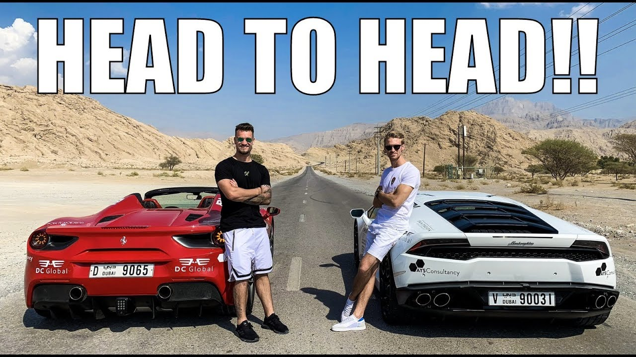 Racing Rental Supercars Of Dubai