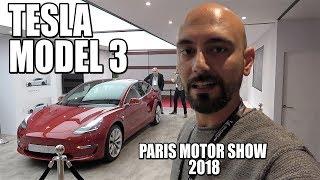 Tesla Model 3 en el Paris Motor Show 2018