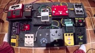 Muse Uprising Bass cover, Uprising Bass sound tutorial and Muse Pedalboard