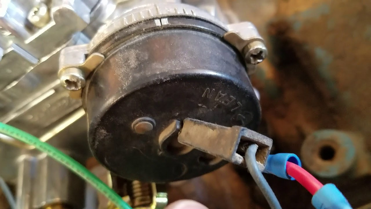 how to install an electric choke on an edelbrock performer carburetor part2