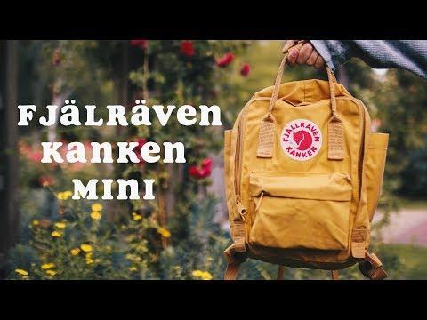 WHAT'S IN MY BACKPACK 🎒🌙 | Fjällräven Kanken Mini