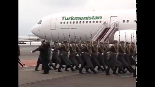 Проводы Президента Туркменистана в Москве / Farewell to the President of Turkmenistan in Moscow