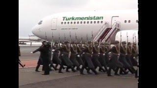 Проводы Президента Туркменистана в Москве / Farewell to the President of Turkmenistan in Moscow