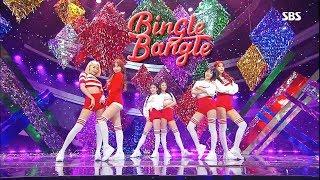 AOA(에이오에이) - 빙글뱅글(BingleBangle) 교차편집(Stage Mix)