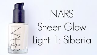 Review: NARS Sheer Glow in Siberia